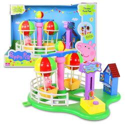【英國Peppa Pig佩佩豬】歡樂樂園-熱汽球遊戲組 PE05881