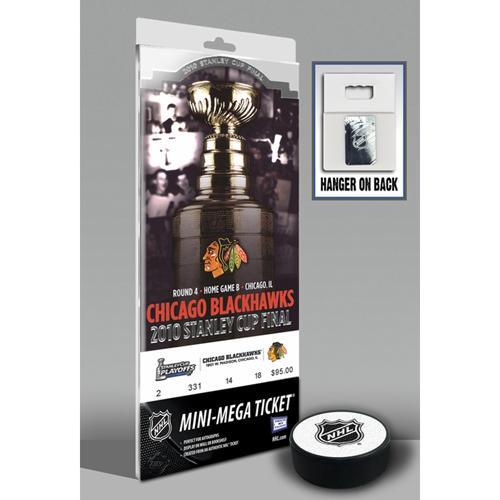 Thats My Ticket 2010 Stanley Cup Mini-Mega Ticket - Chicago Blackhawks e6fc51d171fd4c9049f7e194c5f56c95