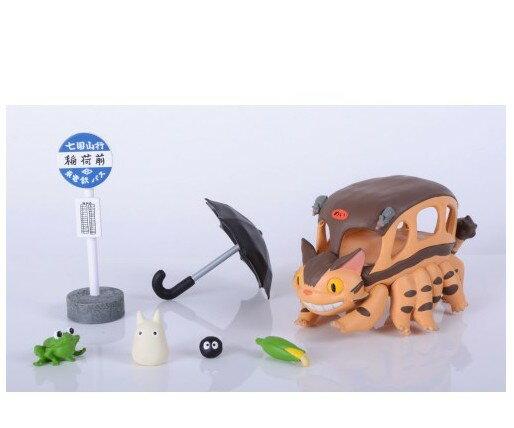 日版 Ensky NOS-51 宮崎駿 龍貓公車 疊疊樂 平衡遊戲 / 進口/ 正版/ 伯寶行