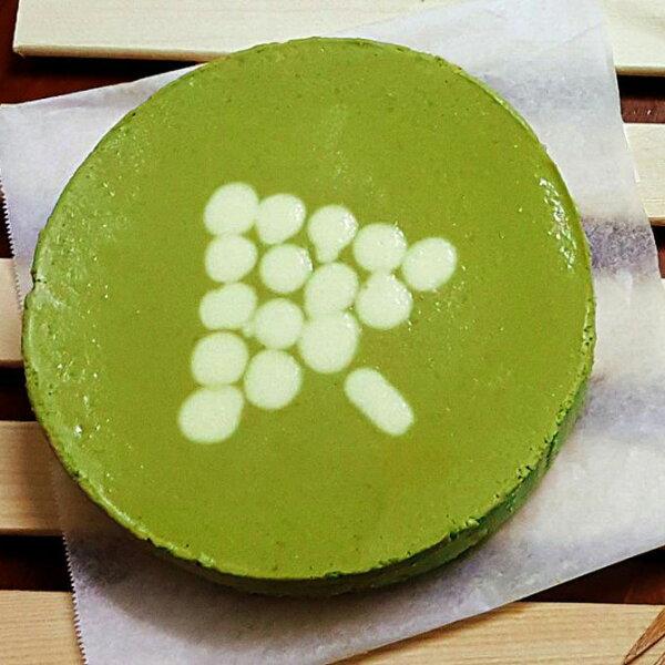 【免運-宇治抹茶重乳酪蛋糕6吋】日本抹茶 自製杏仁餅乾底 用料實在 紮實綿密