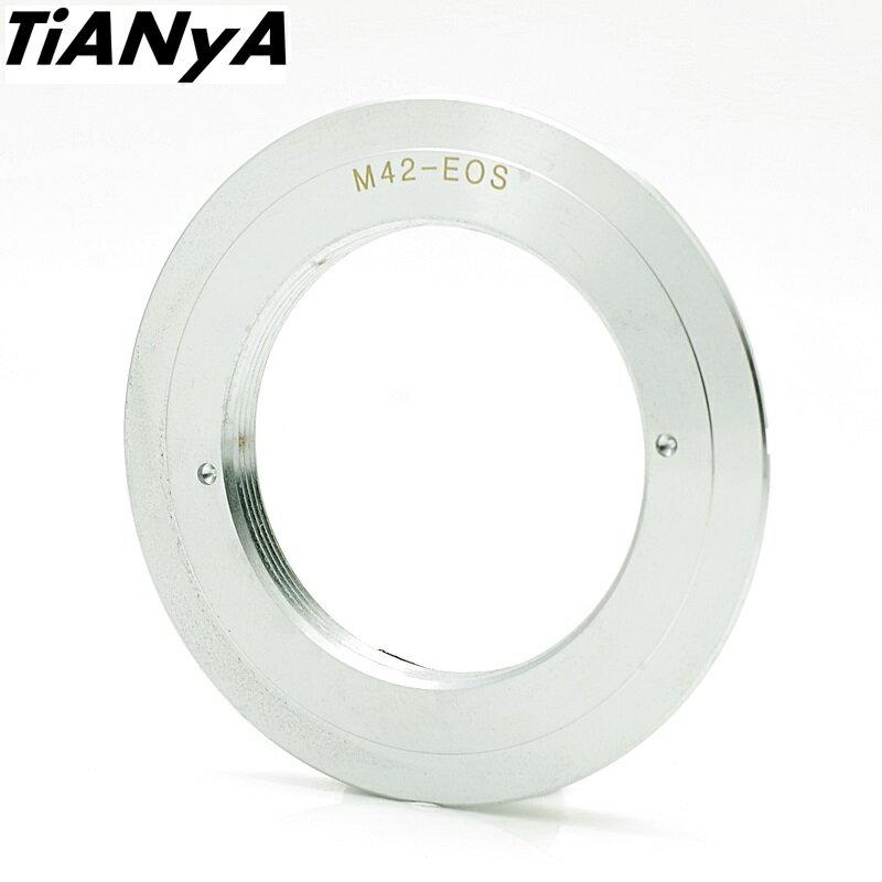我愛買#TianYa天涯M42轉EOS轉接環(無檔板,M42鏡頭轉接至Canon佳能EOS機身EF EF-S)M42-EOS轉接環 M42鏡頭轉接環 M42轉EF M42轉EF-S M42轉Canon..