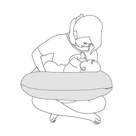 『121婦嬰用品館』unilove   哺乳枕 - 綠 4