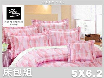 【名流寢飾家居館】躍動曲線.60支精梳棉.標準雙人床包組.全程臺灣製造