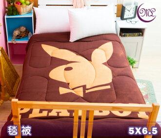 【名流寢飾家居館】PLAYBOY.亮彩咖.雙面花色.暖暖被.保暖毛毯被.全程臺灣製造