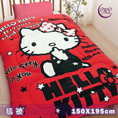 【名流寢飾家居館】Hello Kitty.我就是時尚.暖暖被.雙面花色.保暖毛毯被.特惠780元