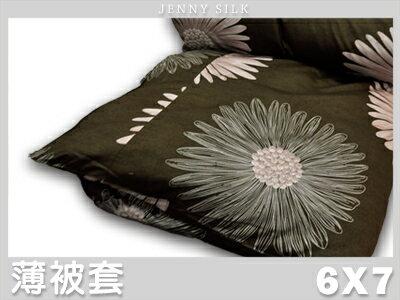 【名流寢飾家居館】夢甜百花齊放.60支精梳棉.雙人薄被套.全程臺灣製造