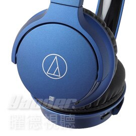 <br/><br/>  【曜德】鐵三角 ATH-AR3BT 藍色 摺疊無線耳罩式耳機 持續30hr ★免運★送收線+收納袋★<br/><br/>