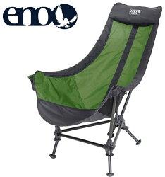 ENO 折疊椅/露營椅 Lounger DL Chair 懶人椅 LD068 萊姆綠/炭灰