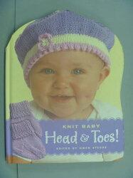 【書寶二手書T4/美工_XBN】Knit Baby Head & Toes: Head & Toes_G
