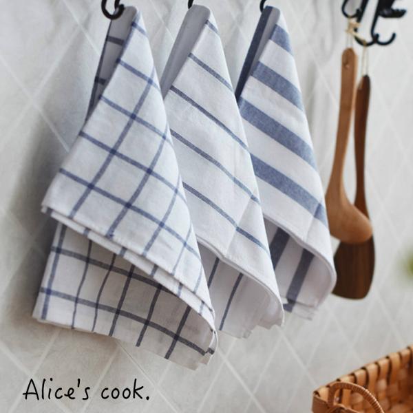 Alice餐廚好物:日式簡約條紋棉麻餐巾桌墊桌巾和風日系百搭推薦