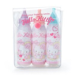 KITTY奶瓶型筆組 三麗鷗 文具 造型筆 日貨 正版授權 L00010444