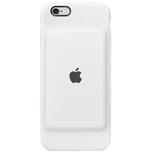 Apple iPhone 6s Smart Battery Case iPhone 6, iPhone 6S (White) Silky Silicone
