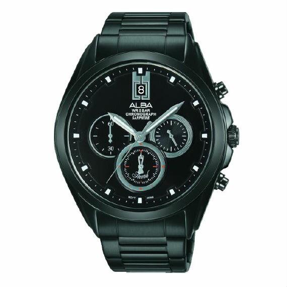 ALBAVD53-X264SD(AT3B07X1)大視窗日期時尚型男計時腕錶43.6mm