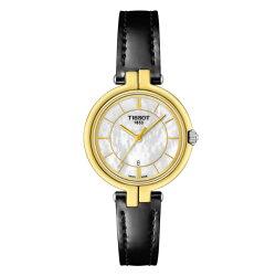 TISSOT天梭表 T0942102611100 FLAMINGO時尚女仕時尚腕錶/珍珠母貝面26mm