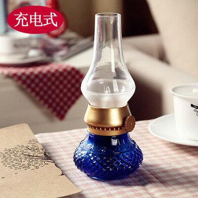 {生活小家電}復古風潮油燈型浪漫桌燈十天預購+現貨