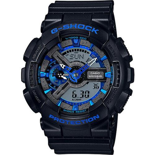 CASIO G-SHOCK GA-110CB-1A極地洋冰流行時尚腕錶/51mm