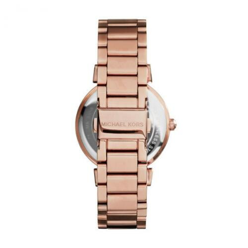 【MICHAEL KORS】正品 羅馬錶盤鑲鑽手錶 黑色水晶鑽女錶 腕錶 MK3356 2