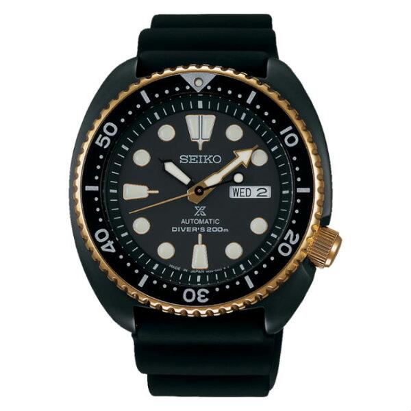 Seiko精工錶Prospex4R36-06H0SD(SRPC48J1)DIVERSCUBA潛水機械腕錶黑面45mm
