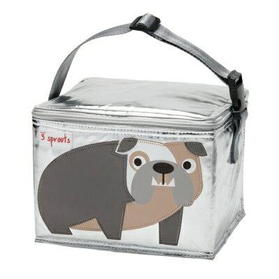 小烏龜精品童裝店:加拿大3Sprouts保溫便當袋-鬥牛犬台灣授權代理商