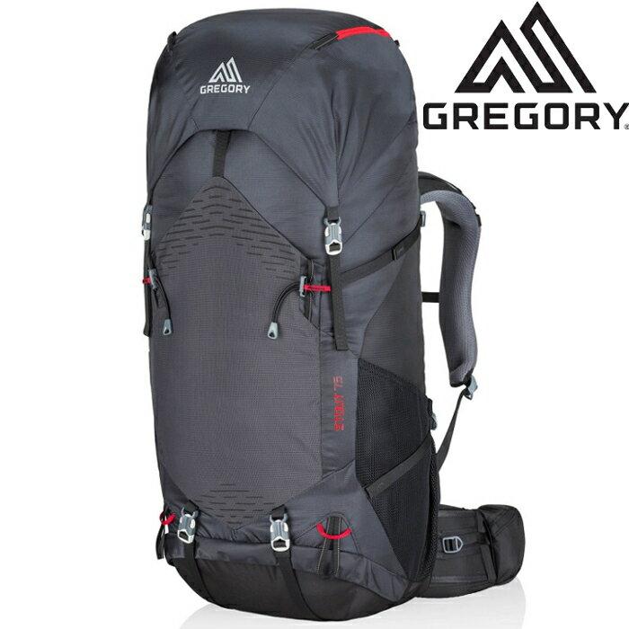 Gregory 後背包/登山背包/中背包/大背 Stout 75 登山包75升 77840 5588煤灰 台北山水