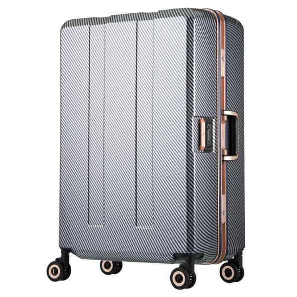 日本LEGENDWALKER6703N-70-29吋寶貝輪秤重箱碳纖藍