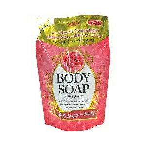 日本製 WINS 沐浴乳補充包400ML(玫瑰香氣) 阿志小舖