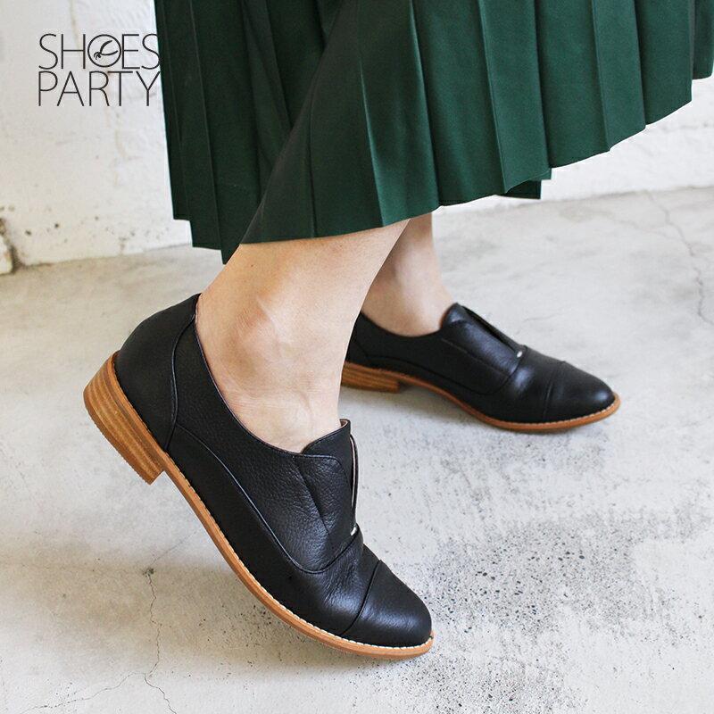 【C2-18740L】簡約真皮復古紳士鞋_Shoes Party 4