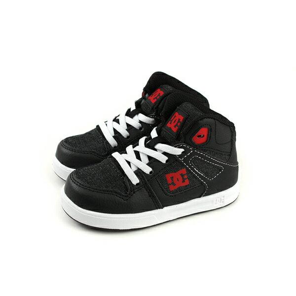 DCPUREHIGH-TOPSEULSN運動鞋黑色丹寧小童童鞋ADTS700053-BLKno141