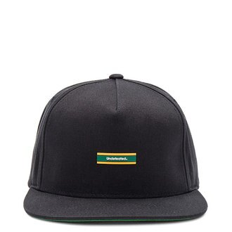【EST】Undefeated 531254 The Barspin Snapback 棒球帽 黑 [UF-5230-002] H1106