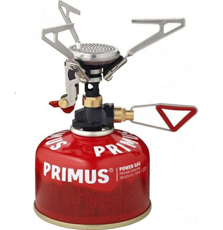 Primus 微米型快速瓦斯爐/輕量登山爐/攻頂爐/附電子點火器 MicronTrail Stove w Piezo 321451