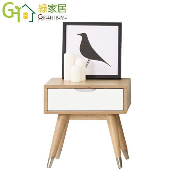 【綠家居】樂普夫時尚1.5尺木紋床頭櫃收納櫃
