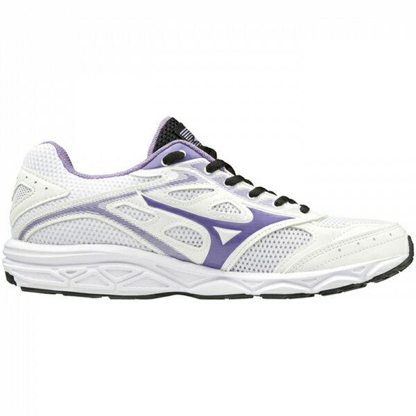Mizuno Maximizer 21 [K1GA190168] 女鞋 運動 休閒 慢跑 走路 輕量 美津濃 白紫 2