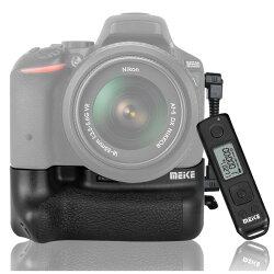 ◎相機專家◎ Meike 美科 MK-D5500 Pro 電池手把 送無線遙控器 垂直手把 公司貨 D5500