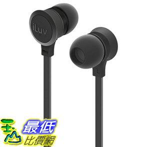 [106美國直購] 耳機 iLuv IEP336BLK In-Ear High Performance Stereo Earphones with Mic for Hands-Free Call