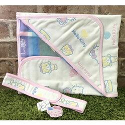 【真愛日本】17062900010 六層紗包巾-眨眼小熊 三麗鷗 kitty 凱蒂貓 嬰幼兒媽咪用品 正品