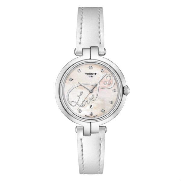 TISSOT天梭表T0942101611101FLAMINGO時尚女仕時尚腕錶白面26mm