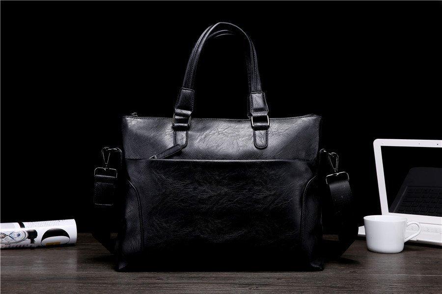 FINDSENSE品牌 韓國 新款  FIN韓國出品 包款 時尚 男士斜挎 公文 商務 手提簡約 休閒 百搭 潮流