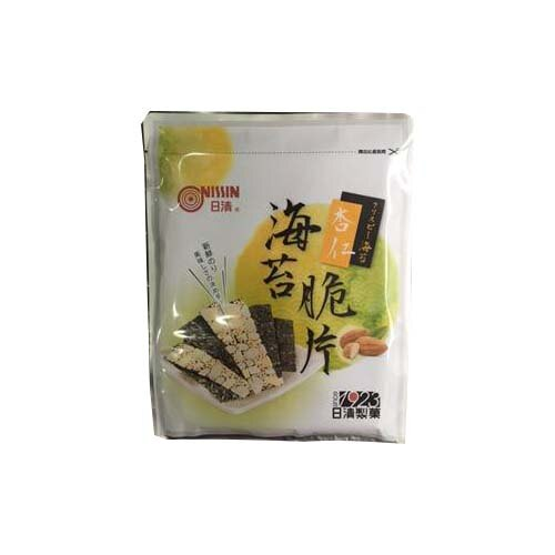 日清-海苔杏仁脆片40g【愛買】
