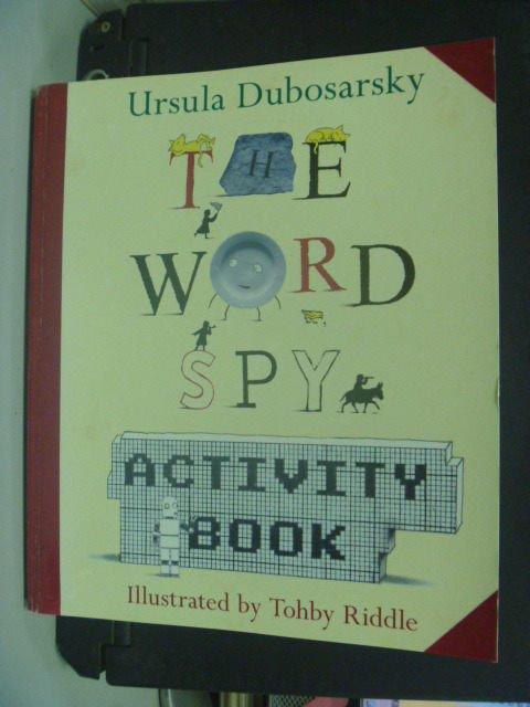 【書寶二手書T8/原文小說_KGZ】The Word Spy_Ursula Dubosarsky