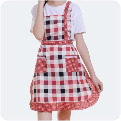 【WaBao】時尚可愛公主圍裙 D0B631