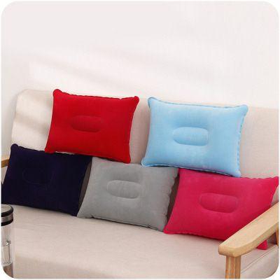 【WaBao】攜帶式戶外旅行方形充氣枕頭 午睡靠枕 D0E041
