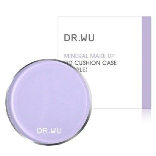 DR.WU夢幻紫色粉盒+氣墊粉餅補充包高效防曬SPF50+PA+++保濕水感【淨妍美肌】
