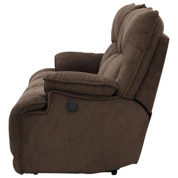 ◎布質3人用電動可躺式沙發 HIT 804 DBR NITORI宜得利家居 3