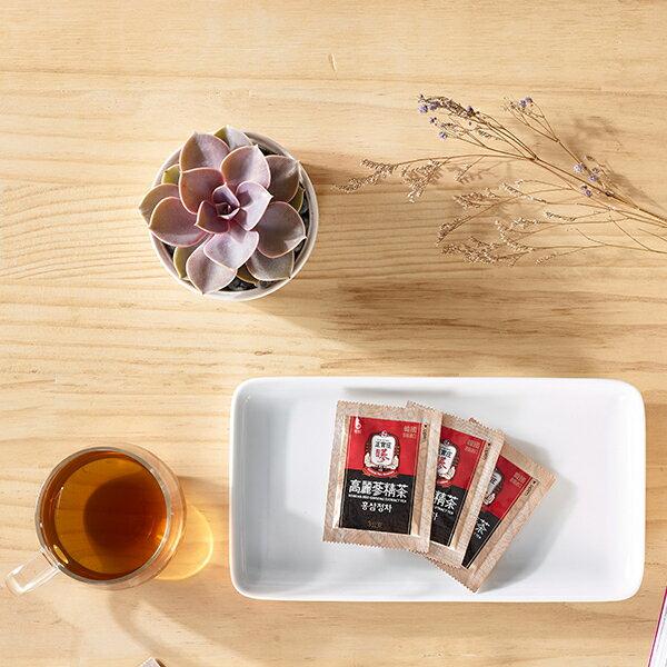 宅配免運【正官庄】高麗蔘精茶50包 / 盒 禮盒裝 高濃度蔘茶 濃縮即溶茶粉 4 / 10左右出貨 3