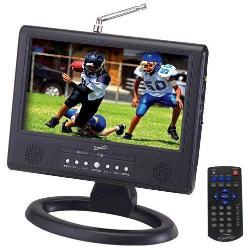 "Supersonic SC-499D 9"" LCD TV - 16:9 - ATSC - 640 x 234 0"
