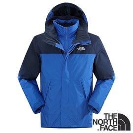 The North Face 男 Gore-tex 兩件式防水保暖羽絨外套『藍』 CTS2
