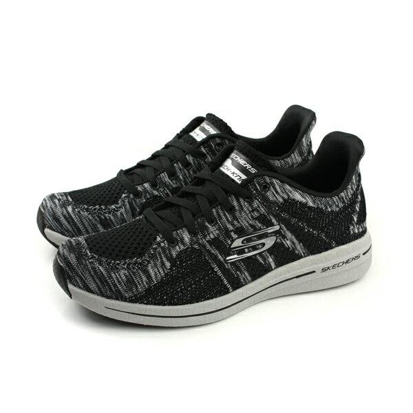 HUMAN PEACE:SKECHERSBURSTSKECH-KNIT運動鞋記憶鞋墊休閒舒適男鞋針織黑色52616BKWno717