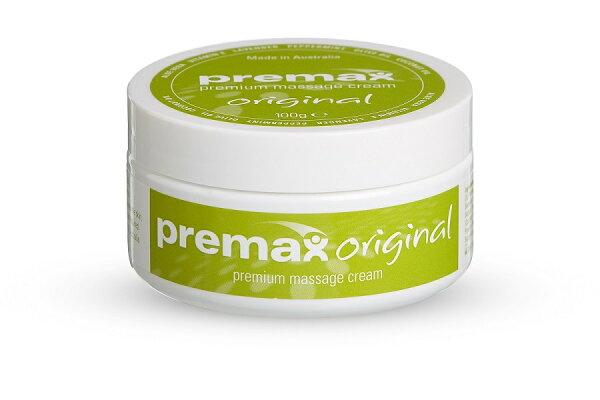 騎跑泳者-Premax運動前按摩乳霜,適用於運動前的肌肉緊張按摩,100ml,產地:澳洲
