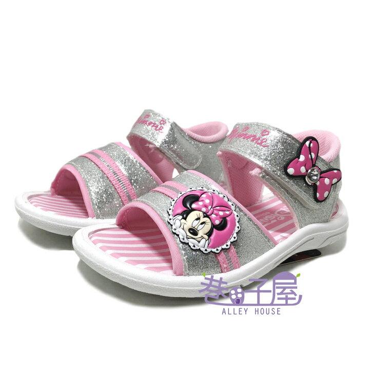DISNEY迪士尼 米妮蝶結造型休閒涼鞋 [118134] 粉 MIT台灣製造【巷子屋】