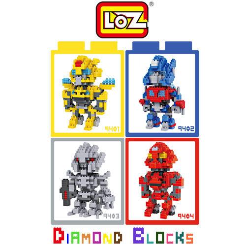 LOZ 迷你鑽石小積木 變形金剛 系列 樂高式 組合玩具 益智玩具 原廠正版 超大盒款